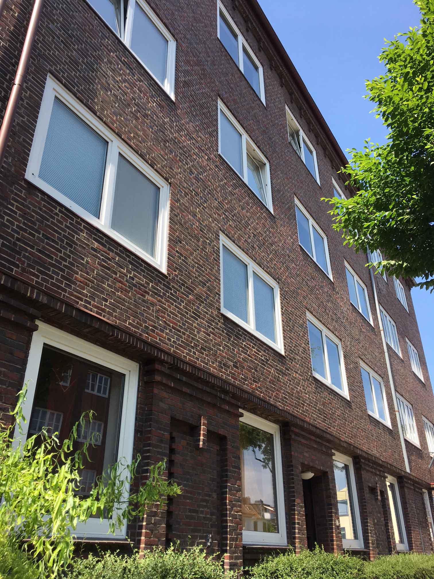 Fassade Gebäude Weimarer Straße 2