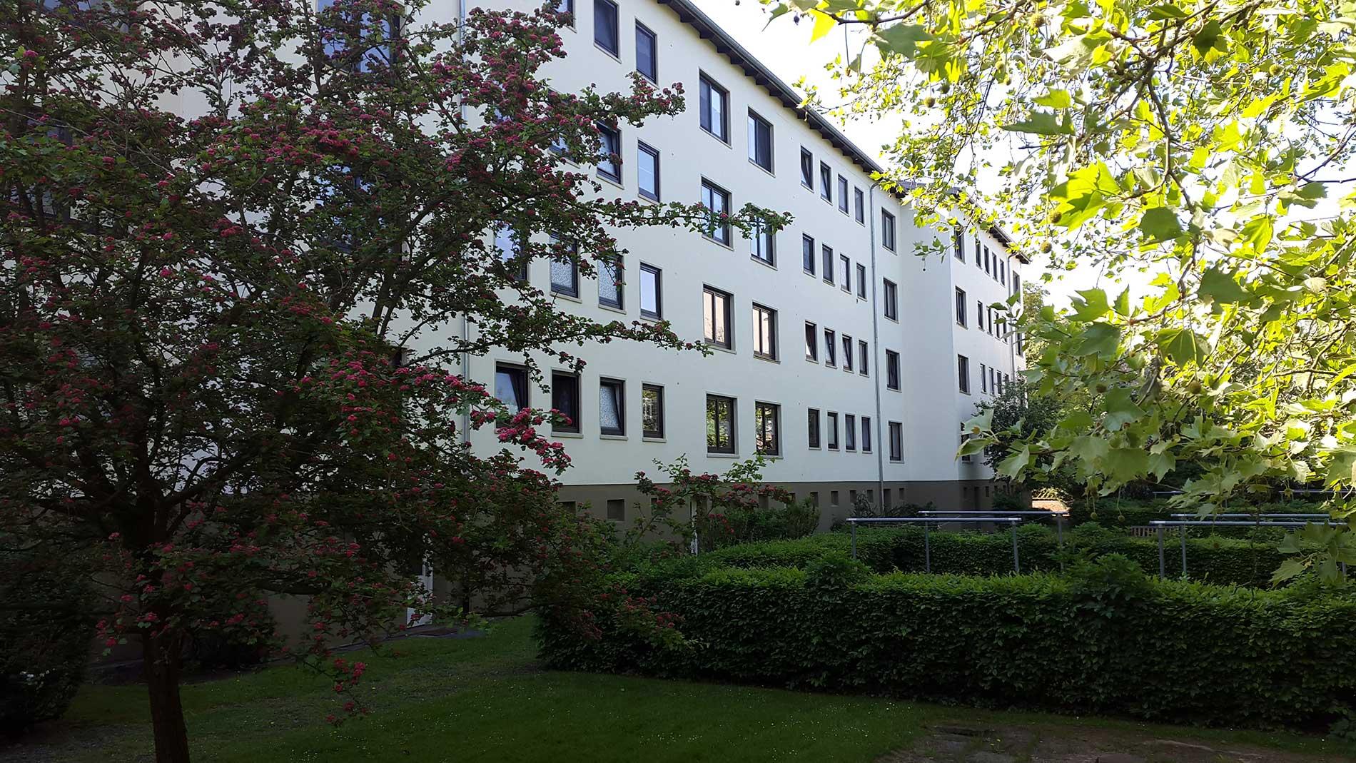 Ansicht Depkenstrasse 42 - 48 Garten