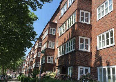 Ansicht der Fassade Hamburger Straße 226-236