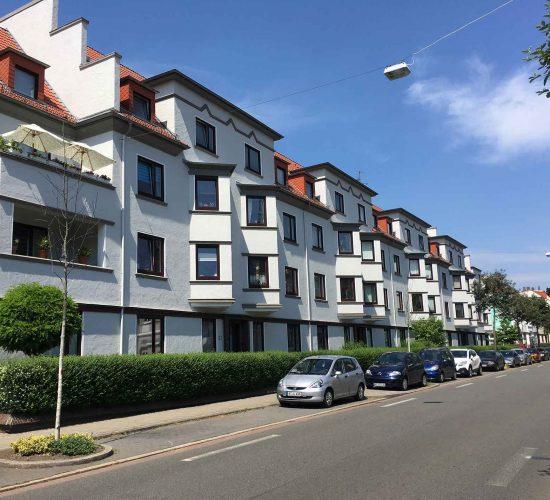 Ansicht Fassade Stader Str. 60 – 70