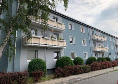 Ansicht Gebäude Rennstieg 81-87