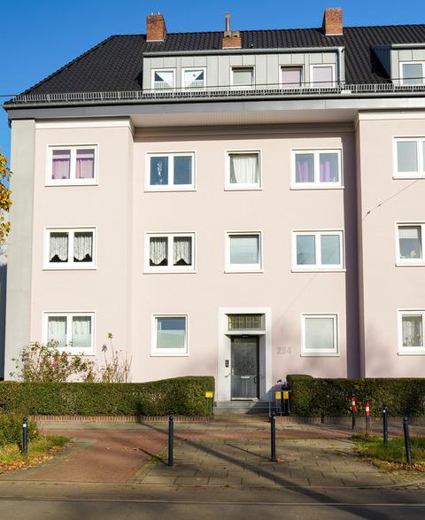 Ansicht Hamburger Straße 254 - 260 Eingang