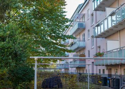 Ansicht Hamburger Straße 254 - 260 Rückseite