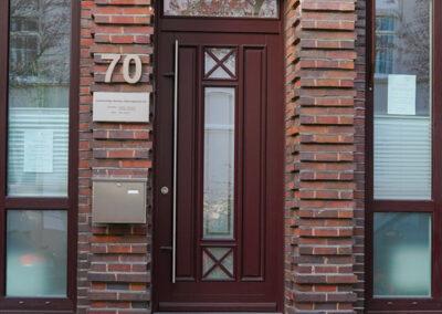 Ansicht Hauseingang Stader Straße 70