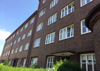 Ansicht Fassade Weimarer Straße 1-5
